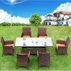 Rattan-Garten-Möbel mit schnellem trockenem Schaumgummi-Kissen