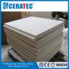 Placa de aislamiento térmico de la junta de fibra cerámica
