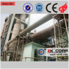 시멘트 또는 석회 또는 광석 생산 라인에 있는 에너지에 의하여 저장되는 회전하는 킬른 사용