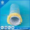 conducto flexible del aislante de aluminio del acondicionador de aire de la ventilación 4  5  6  8  10  12