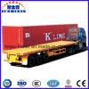 3 полуприцеп плоской кровати контейнера Axle 12.5m 32tons/тележки трейлер Semi