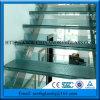 El usar caliente para la escalera endureció precio bajo satinado laminado vidrio