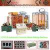 Voller automatischer hydraulischer konkreter Ziegelstein, der Maschine (QT8-15, bildet)