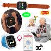 3G WiFi adultos Tracker GPS Reloj con botón SOS