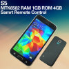새로운 Phone S5 Dual Core 5 Inch Mtk6582 3G WCDMA 4D Airgesture Best Mobile Android Phone