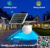 Luz ahorro de energía del panel solar del monocristal con control inteligente