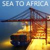 Carga del mar del envío, océano a Ciudad del Cabo Suráfrica de China