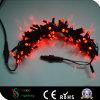 Wasserdichte weiße Weihnachtszeichenkette-Lichter der Farben-LED rote