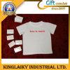 T-shirt 100% coton compressé avec impression de logo pour la promotion (KST-001)