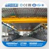 Op rails gemonteerde Dubbele Balk de LuchtKraan van 30 Ton