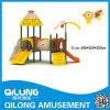 Matériel de cour de jeu de glissière d'enfants (QL14-122D)