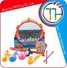 2014 Nuevos productos educativos juguete de plástico del instrumento musical del tambor