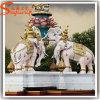 Statue artificiali delle sculture di vetro di fibra della decorazione del giardino