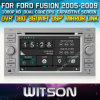 Witson Car DVD para Ford Fusion Car 2005-2009 DVD GPS 1080P DSP Capactive Screen WiFi 3G Front DVR Camera