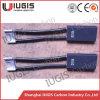 Cepillo de carbón de D374n para el uso eléctrico 12.5*20*50m m del motor de la C.C.