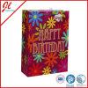 Sacos de papel coloridos de compra do presente do saco de papel para o aniversário