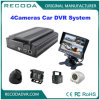 Full 1080P HD 4cameras Car Security DVR Suporte 2tb HDD e cartão SD
