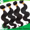 tramas pretas naturais do cabelo de Remi do Virgin não processado da classe 7A