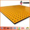 2017 новый продукт самая низкая цена желтый полиэстер перфорированного композитной панели (AE-38B)