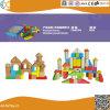 Hölzerne Bausteine stellten klassische pädagogische Spielwaren für Vorschulkinder ein