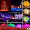 lampe 10mto50m de chaîne de caractères d'éclairage de 12V 24V 110V 220V RVB DEL pour les éclairages LED extérieurs de la lumière de Noël de vacances de décoration 100