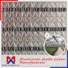 Изготовление ткани тени ширины 1m~4m внешнее алюминиевое
