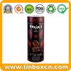 Het in reliëf gemaakte Lange Donkere Tin van de Chocolade voor de Doos van de Verpakking van het Voedsel van het Metaal