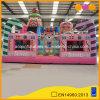 Usado Parte Jumpers Candy grande urso insufláveis Casa saltitonas para as meninas brinquedo (AQ01666-2)