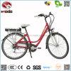 Производство 250W EN15194 оптовой электрический город Bike литиевая батарея дисплей со светодиодной подсветкой велосипед педали сцепления E-Bike V ТОРМОЗА АВТОМОБИЛЬ