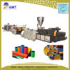 플라스틱 HDPE/PVC 두 배 벽 기계를 만드는 물결 모양 관 밀어남