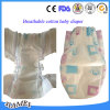 Les couches pour bébés de haute qualité respirable avec Magic bandes alimentant en usine