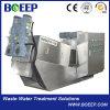 Ss304 Le fumier de boues à haute efficacité énergétique de l'assèchement de la machine pour le traitement de l'eau