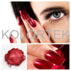 Maquillaje pigmentos Mica cromático de intenso color rojo sangre, los colorantes de mica