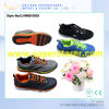 Homens Lace Colorful TPU Outsole Soccer Football Sport Shoes