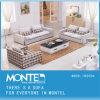 Casa moderna mobília tecido Seccional Sofá Definido