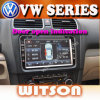 フォルクスワーゲンEOS/ゴルフ/Gti/Jetta/Passat B6/ウサギ/Tiguan/座席W2-D9235VのためのGPSのWitson車のDVDプレイヤー