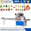 Macchina avvolgitrice di flusso della frutta fresca/macchina imballatrice di verdure con il prezzo competitivo