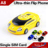 A8は小型車の形様式の携帯電話SIMのカードのデュアルバンドの安いカラー二倍になる