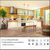 Gabinete de cozinha branco acrílico da cor do MDF (FY957)