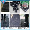 Anti-UV Outdoor Rubber Grass Protection Mats, Playground Soft Mat