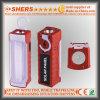 Nachladbare Solar-LED-Notleuchte mit Taschenlampe 1W (SH-1901A)