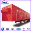 重いトラクターのトラックの貨物ユーティリティセミトレーラーを運ぶ閉鎖ボックストレーラーのタンデム車軸石炭