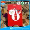 Kundenspezifische Drucken-Plastikgepäck-Marken-geformte Visitenkarten
