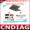 Icom een 2+B+C voor BMW met Brandnew Lenove E49A 2014.09 Software Full Set Ready aan Use