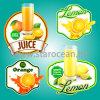 Etiquetas personalizadas da laranja da impressão