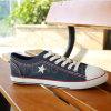 2016 ботинок холстины людей с звездой (SNC-02005)