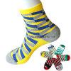 Socks der Fabrik-Lieferanten-Großverkauf-Form-Freizeit-helle Farben-Männer der Dame