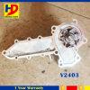 Bomba de água V2403 para peças sobresselentes do motor Diesel da máquina escavadora