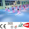 파란 태양열 집열기 분홍색 Mr1006 PVC Danceroom 유치원 홈 3.2mm를 위한 상업적인 지면 비닐 마루