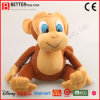 아이를 위한 채워진 장난감 견면 벨벳 동물성 원숭이 연약한 장난감 또는 아이들 또는 아기
